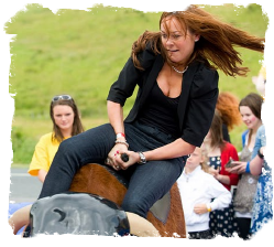 Bucking Bronco Girl